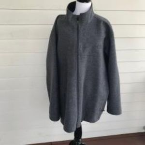 The North Face Men's Size XXL Gray Wool Jacket